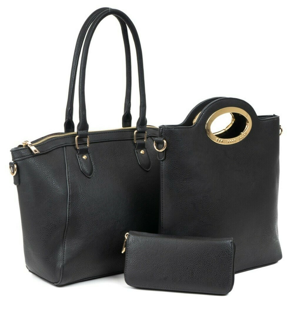 Laurie Three Piece Handbag Set