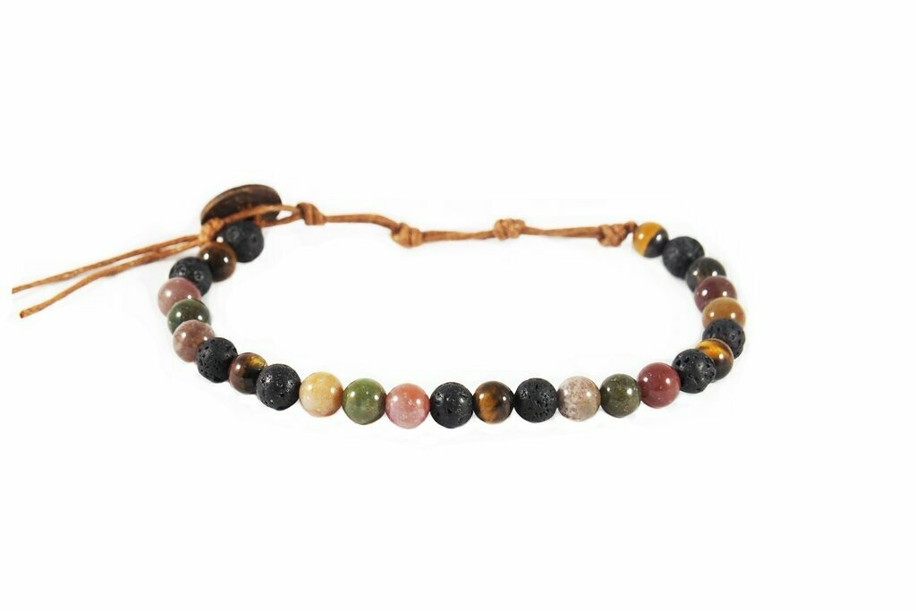 Strength And Courage 6mm Bracelet