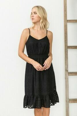 Lace Jacquard Dress