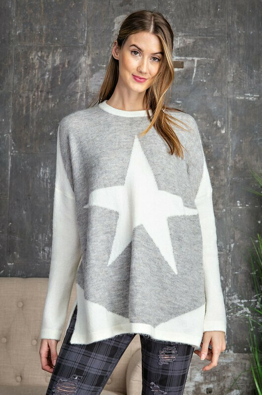 Soft And Cozy Star Sweater