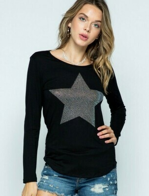 Long Sleeved Star Tee