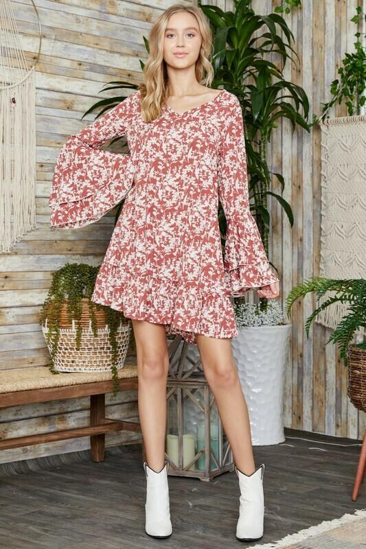 We Love Spring Floral Dress