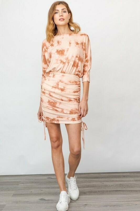 Tie-Dye Mini Dress