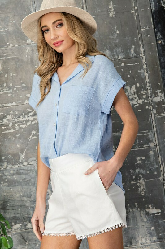 Classic Woven Blouse