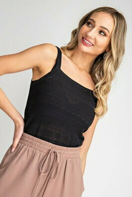 Ribbed Knit Cami