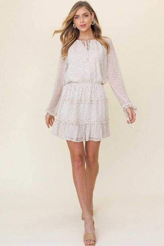 Sweetheart Tiered Dress