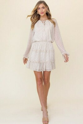 Sweetheart Tiered Dress