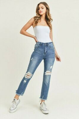 HW Distressed Jeans