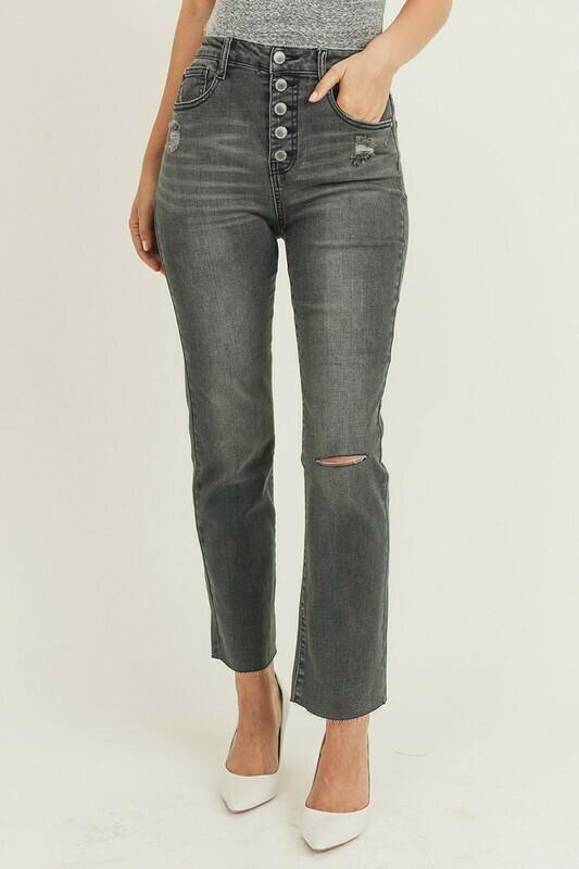 HW Grey Straight Leg