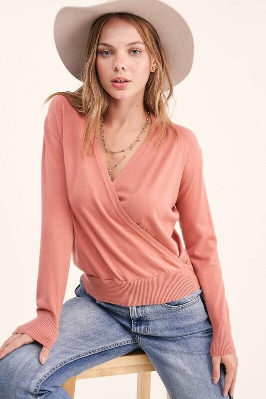 Amelia Wrap Summer Sweater