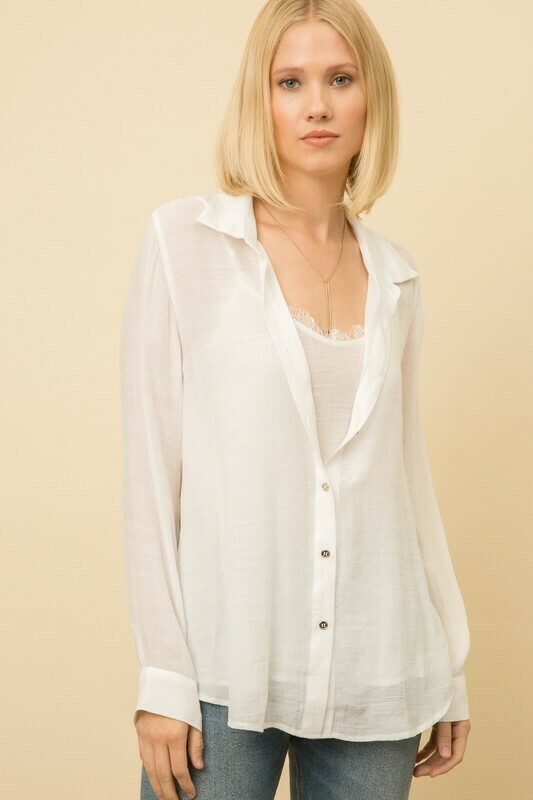 Lightweight Blouse with Cami