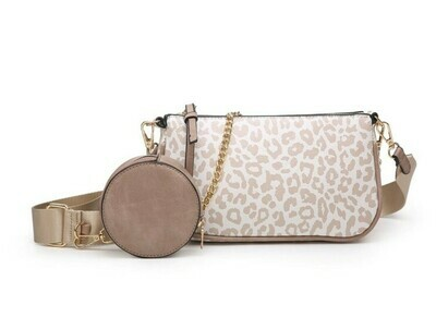 Marina Crossbody With Removable Chain & Pouch