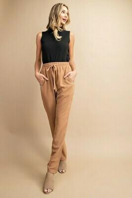 Drawstring Woven Pants