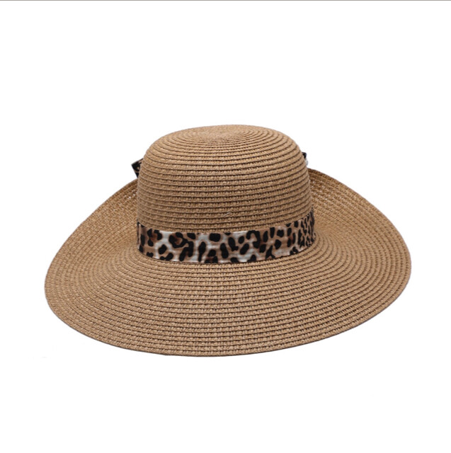 Natural Hat With Ribbon