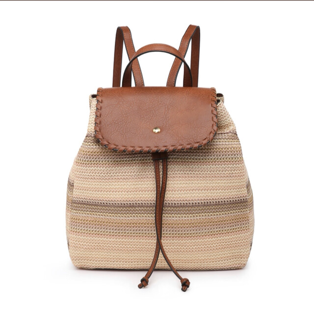 Saffron Two Tone Backpack