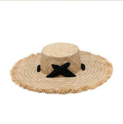 Irene Scalloped Brim Hat