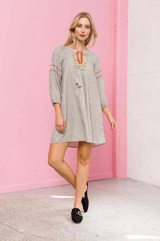 Moroccan Inspired Tunic/Dress