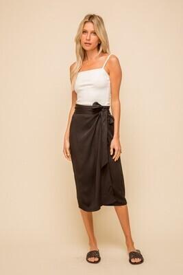 Wrap Midi Skirt