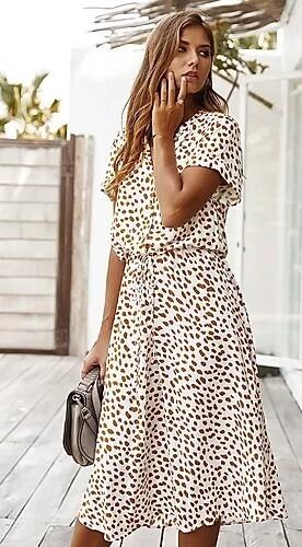 Pretty Woman Midi Dress