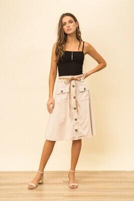 Midi Safari Skirt