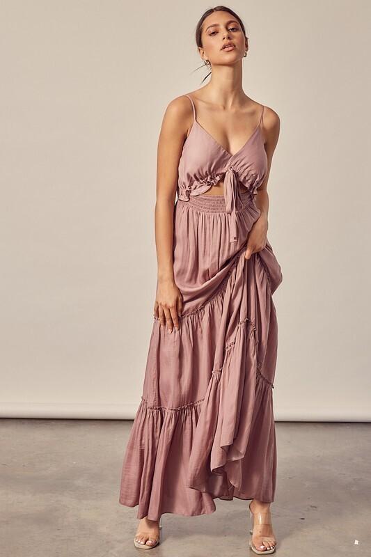 Tiered Maxi Summer Dress