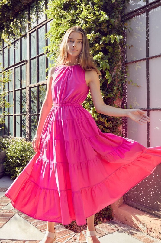 Maxi Cutout Dress