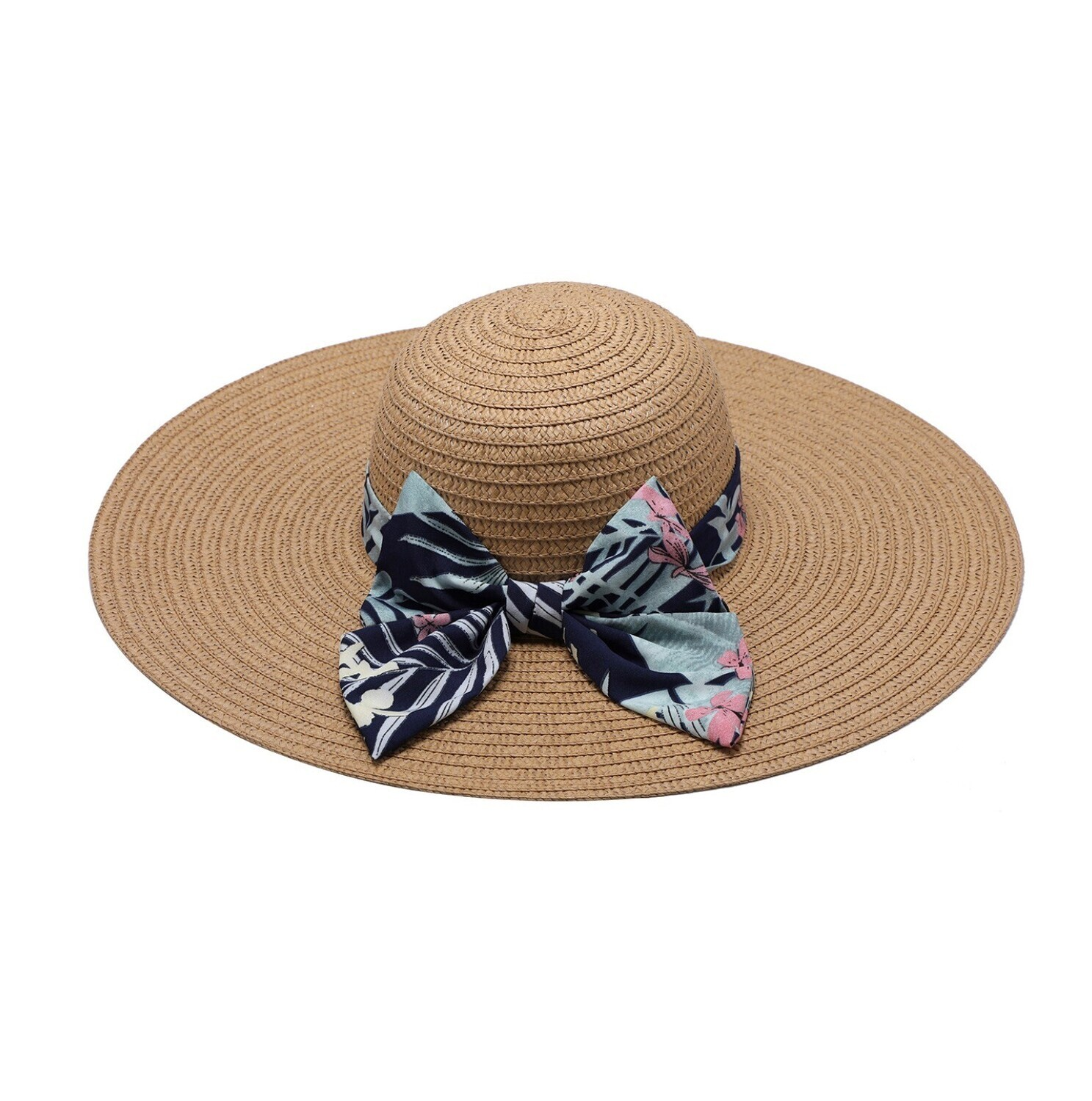 Meadow Sun Hat With Bow Ribbon