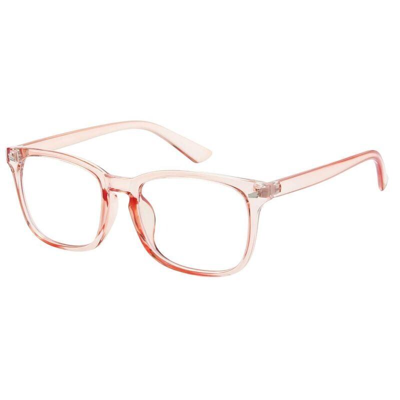 Horn-Rimmed Frame Blue Light Blocker Glasses