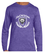 Long Sleeve T-Shirt - Purple Heather