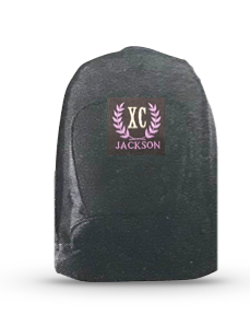 JXC Backpack Embroidered Logo - Black