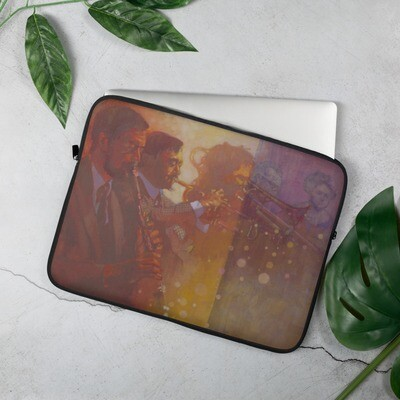Laptop Sleeve - Late Night at Lindy Focus XVIII