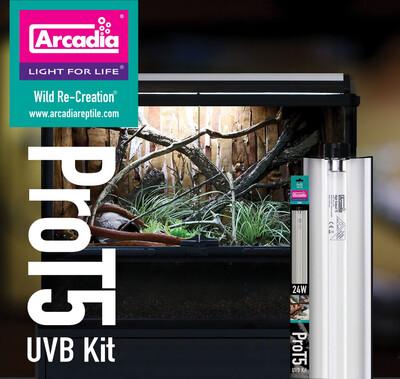 "Arcadia ProT5 UVB Kit 48"""