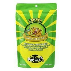 2 Oz. Pangea Fruit Mix Papaya Complete Gecko Diet