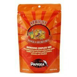 8 Oz. Pangea Fruit Mix Apricot Complete Gecko Diet