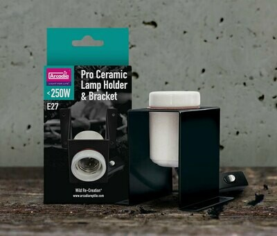 Arcadia Ceramic Lamp Holder Bracket Pro