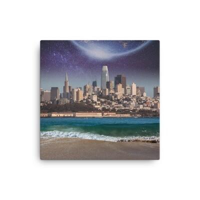 SF Skyline Canvas