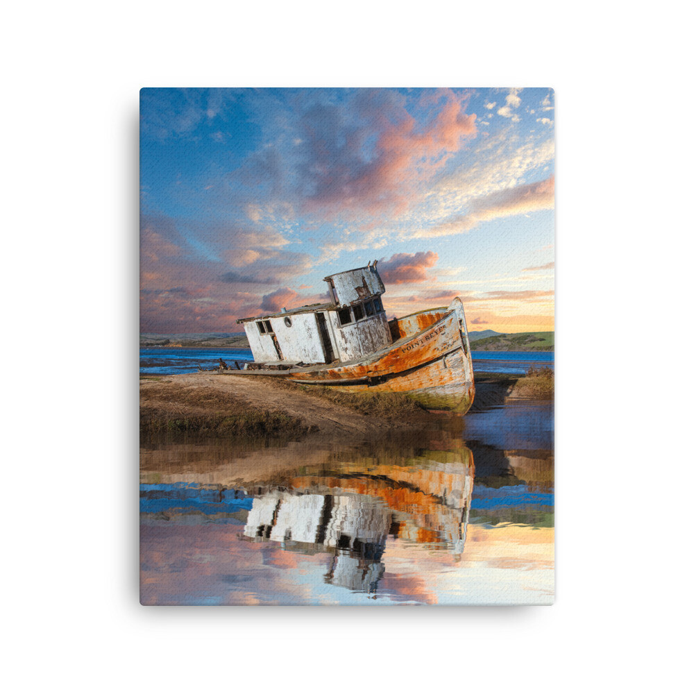 Point Reyes Shipwreck Canvas