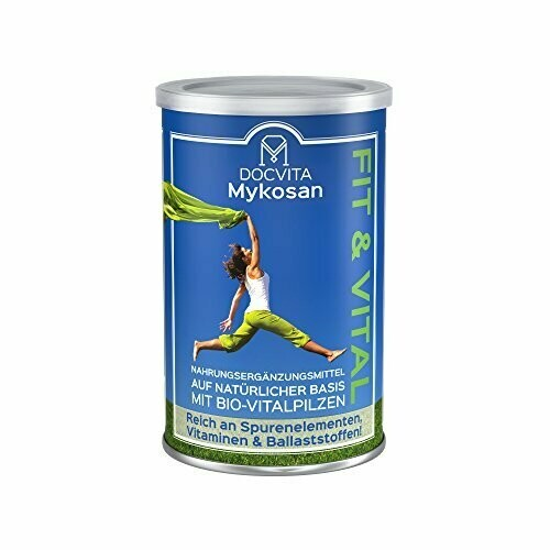 DocVita FIT & VITAL Nahrungsergänzung mit Bio  Vitalpilze 450 g
