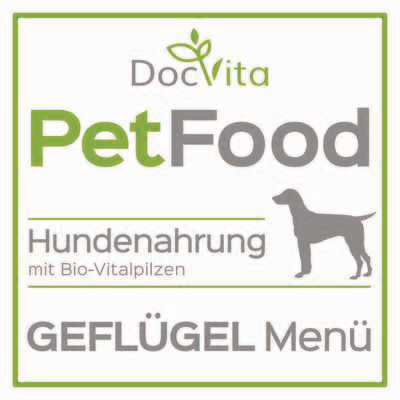 PetFood I Geflügel-Menü I Trockenfutter mit Bio-Vitalpilzen 1,5 kg