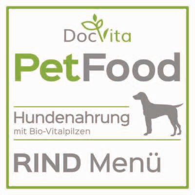 PetFood I Rind-Menü I Trockenfutter mit Bio Vitalpilzen 1,5 kg