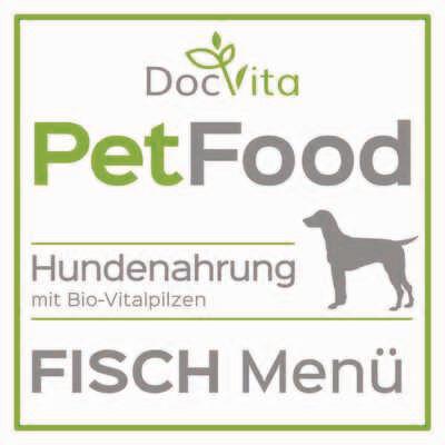 PetFood I Fisch-Menü I Trockenfutter mit Bio Vitalpilzen 1,5 kg