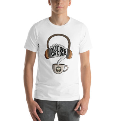 Coffee Beats T-Shirt (White)
