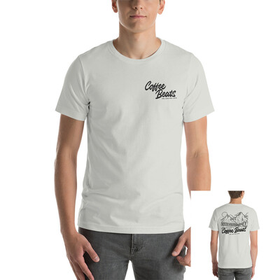 Coffee Beats T-Shirt (Silver)