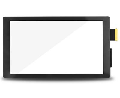 Vitre tactile - Grise - Compatible avec Nintendo Switch Lite