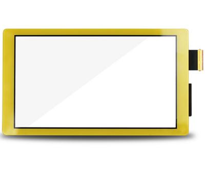 Vitre tactile - Jaune - Compatible avec Nintendo Switch Lite