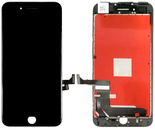 Ecran LCD (OEM) - Noir - Compatible avec iPhone 7