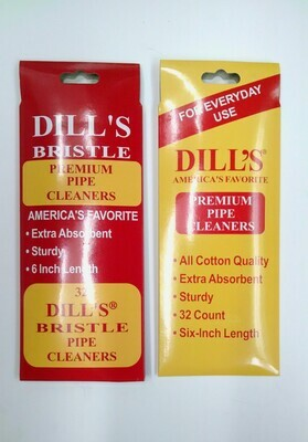 DILL'S Bristle or Standard Pipe Cleaners