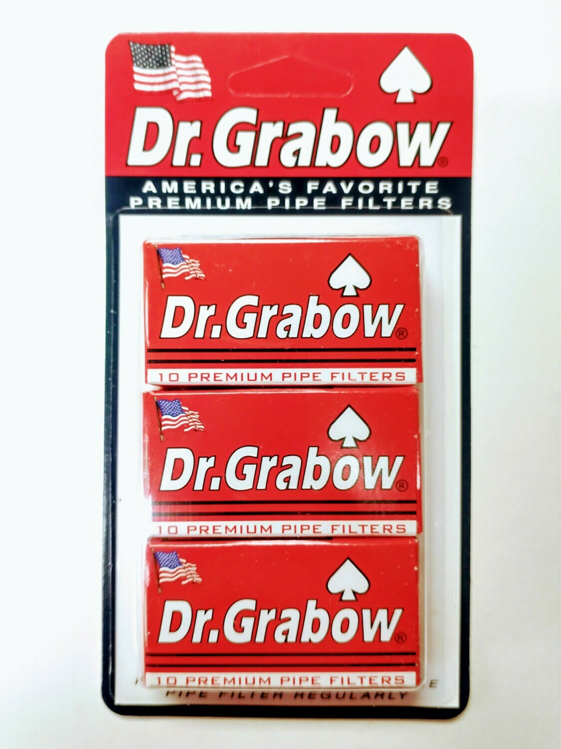 Dr. Grabow Pipe Filters 3-Pack