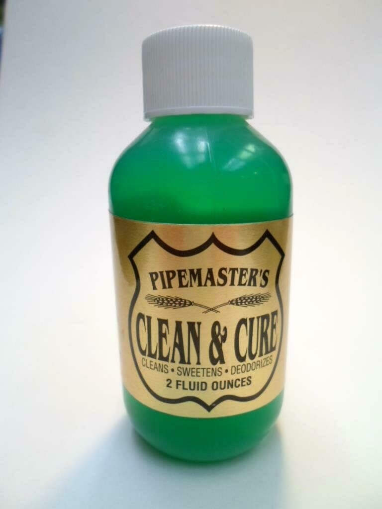 Pipemaster's Clean & Cure 2 oz. Bottle
