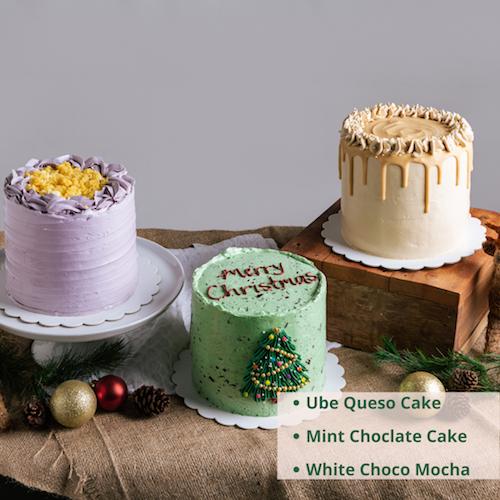 Christmas Celebration Cakes